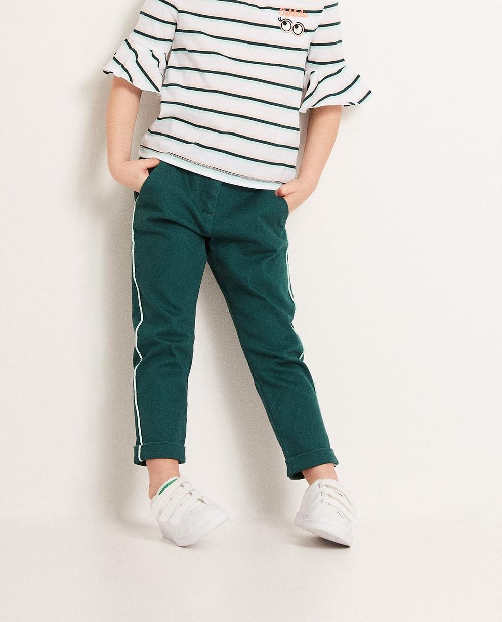 Pantalons - dark green -